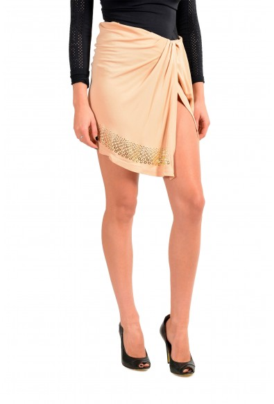 Just Cavalli Women's Beige Asymmetrical Skirt: Picture 2