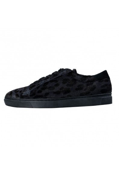 Dolce & Gabbana Men's Pony Hair Fashion Sneakers Shoes: Picture 2