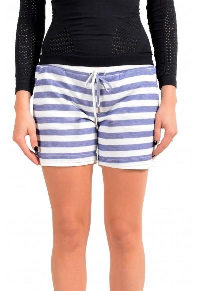 Dsquared2 Women's Striped Mini Shorts