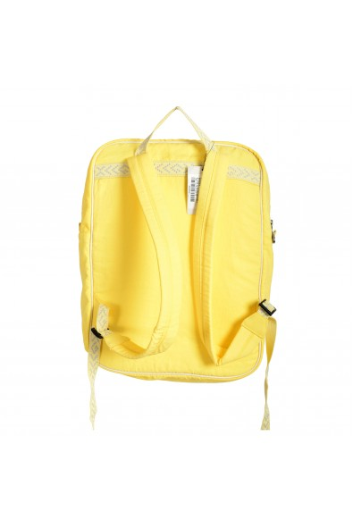 """Gucci Men's Yellow """"Blind for love"""" Canvas Backpack: Picture 2"""