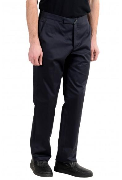 Exte Men's Dark Blue Stretch Casual Pants: Picture 2