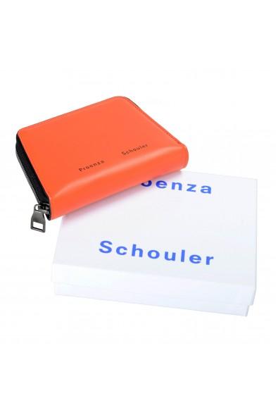 Proenza Schouler Women's Hot Coral 100% Leather Trapeze Zip Wallet