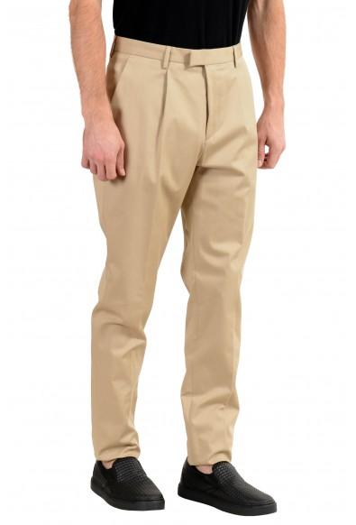 "Hugo Boss ""T-Borden"" Men's Beige Pleated Casual Pants: Picture 2"