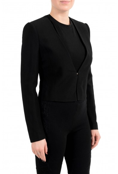 "Hugo Boss Women's ""Jisuneri"" Black Cropped Blazer: Picture 2"