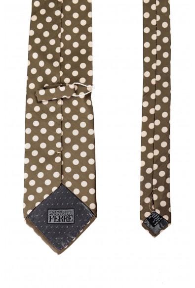 Gianfranco Ferre Men's Polka Dot Multi-Color Neck Tie: Picture 2