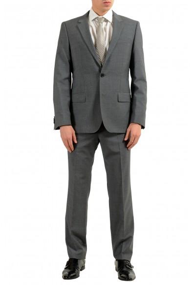 """Hugo Boss """"Halsey2/Merrill2"""" Men's 100% Wool Gray Two Button Suit"""