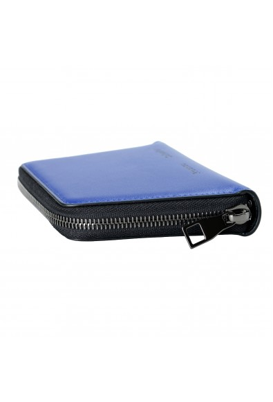 Proenza Schouler Women's Royal Blue 100% Leather Trapeze Zip Wallet: Picture 2