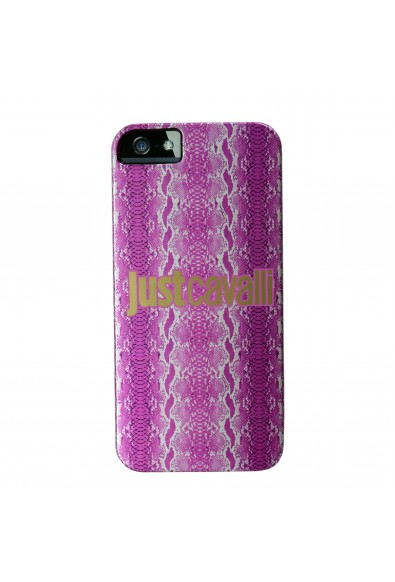 """Just Cavalli """"Shiny Python"""" Cover For IPhone 5/5S With Transparent Sides"""