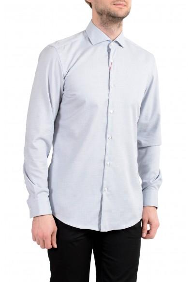 "Hugo Boss ""Kason"" Men's Slim Fit Blue Long Sleeve Dress Shirt"