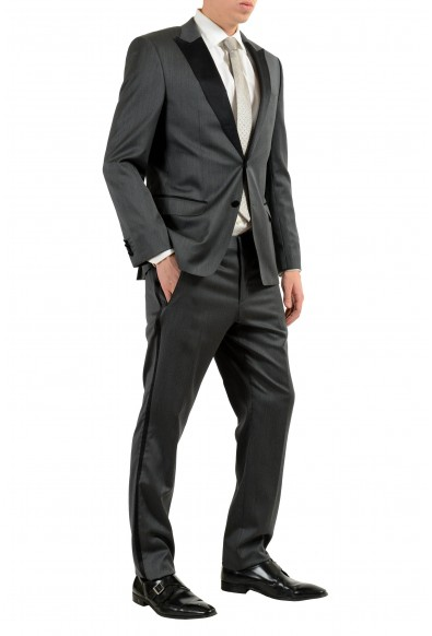"""Hugo Boss """"Hanford/Golden"""" Men's Gray Wool Tuxedo Two Button Suit: Picture 2"""