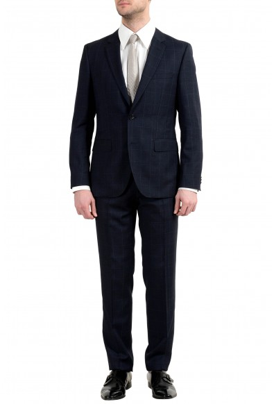 """Hugo Boss """"Jeffery/Simmons182"""" Men's 100% Wool Two Button Suit"""