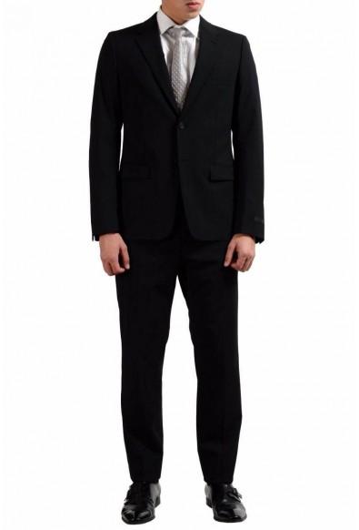 Prada Wool Black Two Button Men's Suit