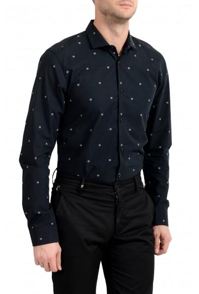 "Hugo Boss Men's ""Erondo"" Extra Slim Fit Smiley Print Dress Shirt: Picture 2"