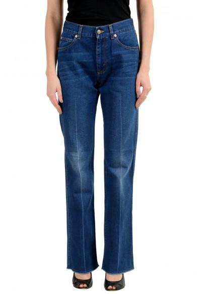 Gucci Blue Medium Wash Straight Leg Women's Jeans