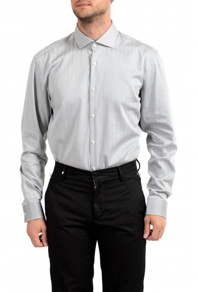 "Hugo Boss Men's ""C-Jason"" Slim Fit Striped Long Sleeve Dress Shirt: Picture 2"