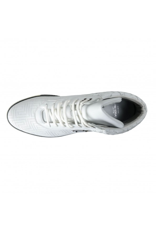 Gianni Versace Men's Leather Hi Top Sneakers Shoes : Picture 8
