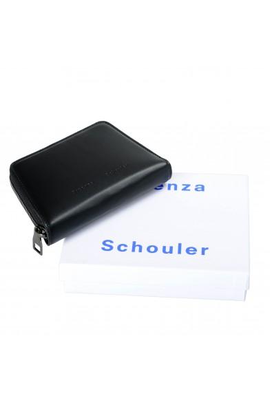 Proenza Schouler Women's Black 100% Leather Trapeze Zip Wallet