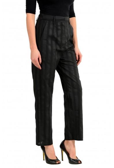 Maison Margiela MM6 Wool Multi-Color Striped Women's Casual Pant: Picture 2