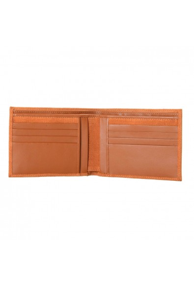 Isaia 100% Leather Brown Men's Bifold Wallet: Picture 2