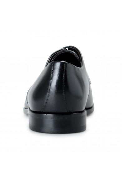 """Hugo Boss Men's """"Highline_Derb_pr1"""" Black Textured Leather Derby Shoes: Picture 2"""