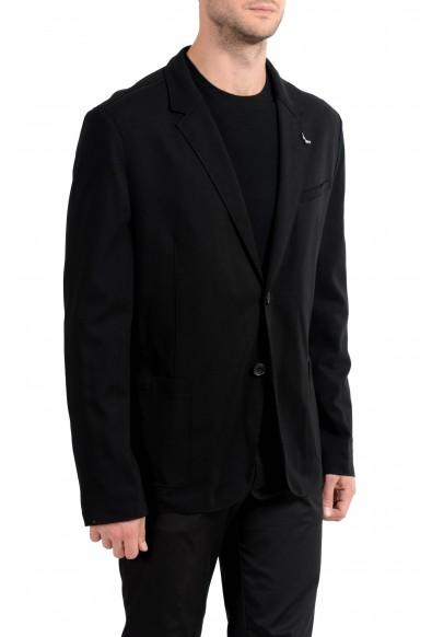 "Hugo Boss ""Ardis-J"" Men's Black Stretch Two Button Blazer Sport Coat: Picture 2"