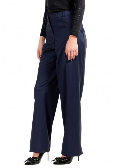 """Hugo Boss Women's """"Tamea1"""" Blue 100% Wool Dress Pants: Picture 2"""