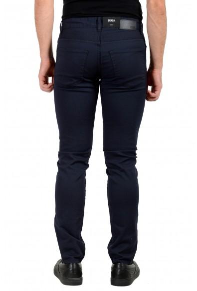 "Hugo Boss Men's ""Delaware3-1-20"" Dark Blue Stretch Jeans : Picture 2"