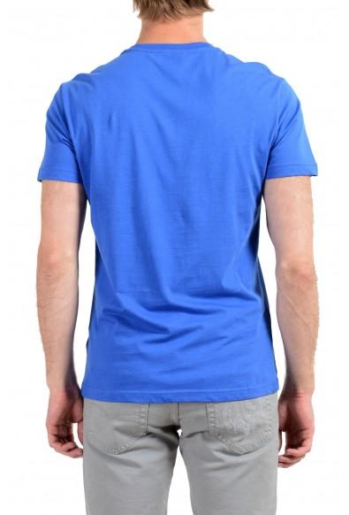 Versace Jeans Men's Blue Graphic Short Sleeve T-Shirt: Picture 2
