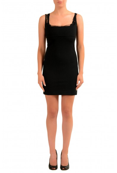 Dsquared2 Black Sleeveless Women's Bodycon Dress