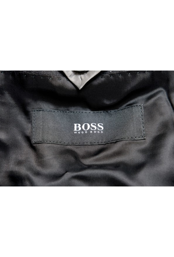 """Hugo Boss """"Huge6/Genius5"""" Men's Linen Silk Wool Slim Fit Gray Two Button Suit: Picture 12"""