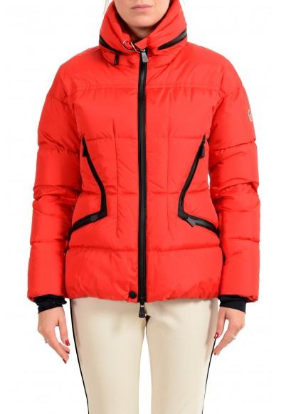 "Moncler Women's ""FDIXENCE"" Down Red Ski Parka Jacket"
