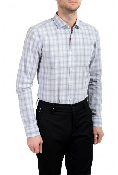 "Hugo Boss ""EastonX"" Men's Plaid Slim Long Sleeve Dress Shirt: Picture 2"
