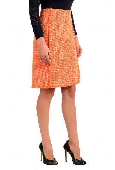 "Hugo Boss Women's ""Vomanda"" Orange A-Line Straight Skirt : Picture 2"