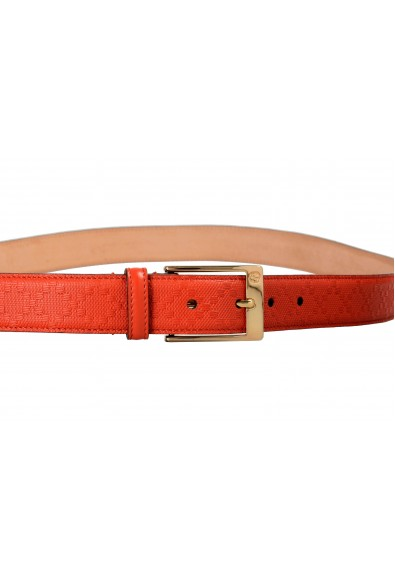 Gucci 100% Leather Orange Women's Belt: Picture 2