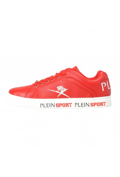 """Plein Sport """"Julian"""" Red Fashion Sneakers Shoes: Picture 2"""