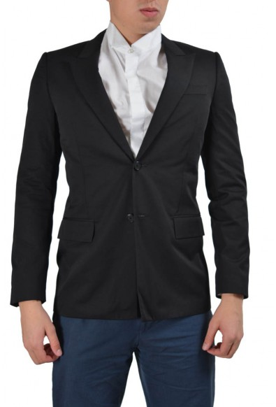 Givenchy Black Two Buttons Men's Blazer