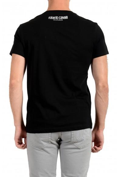"Roberto Cavalli ""Beachwear"" Men's Black Graphic Print T-Shirt: Picture 2"