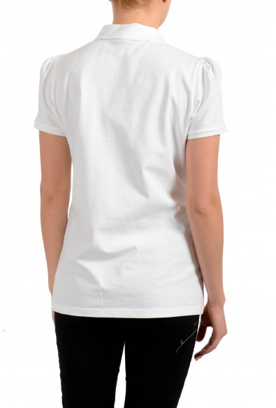 Burberry Women's White Short Sleeves Polo Shirt : Picture 2