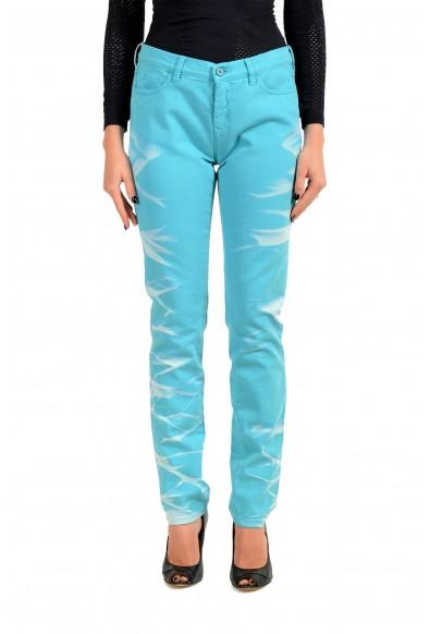 Maison Margiela MM6 Women's Blue Slim Jeans
