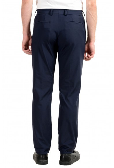 Versace Collection Men's Dark Blue Stretch Casual Pants: Picture 2