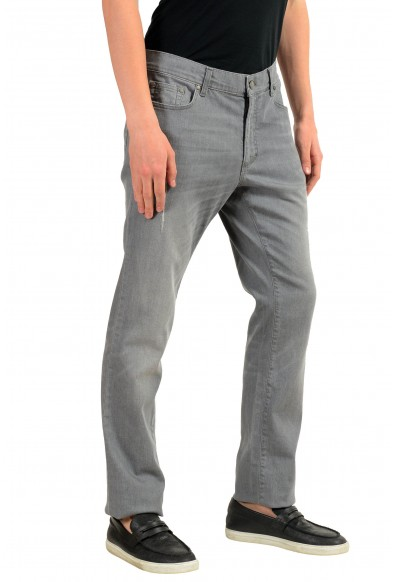 """Versace Collection """"Trend"""" Men's Gray Straight Leg Classic Jeans: Picture 2"""