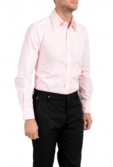 Dolce & Gabbana Men's Pink Button Down Long Sleeve Dress Shirt : Picture 2