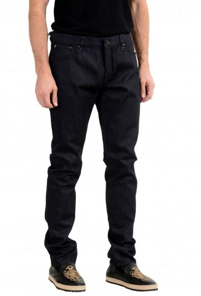 John Varvatos Men's Dark Blue Slim Skinny Jeans: Picture 2