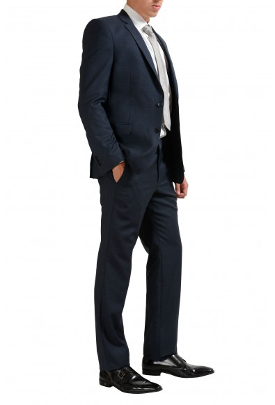 Versace Collection Blue Men's 100% Wool Two Button Suit : Picture 2