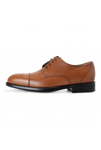 """Salvatore Ferragamo """"Aramix 1 cm"""" Men's Brown Leather Lace Up Oxfords Shoes: Picture 2"""