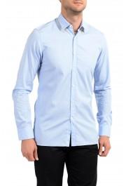 Lanvin Men's Light Blue Long Sleeve Dress Shirt