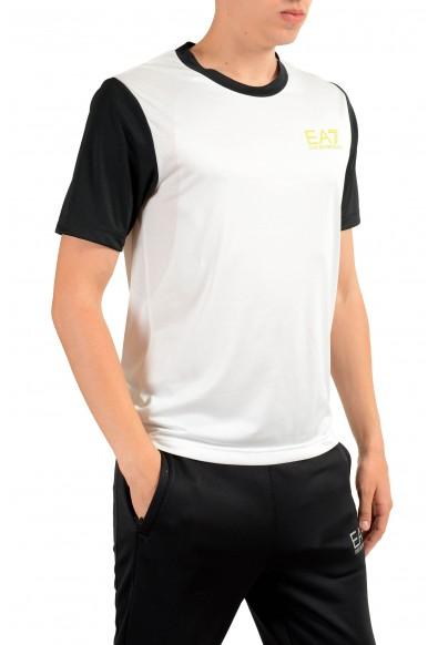"""Emporio Armani EA7 """"Train Squash"""" Men's White Active T-Shirt: Picture 2"""