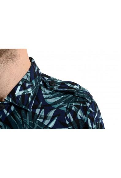 "Hugo Boss ""Lovel"" Men's Linen Graphic Long Sleeve Casual Shirt: Picture 2"