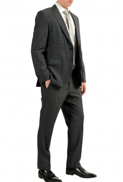 "Hugo Boss ""Johnstons2/Lenon"" Men's 100% Wool Plaid Two Button Suit: Picture 2"