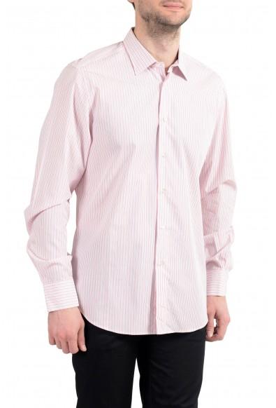 Malo Men's Striped Long Sleeve Dress Shirt